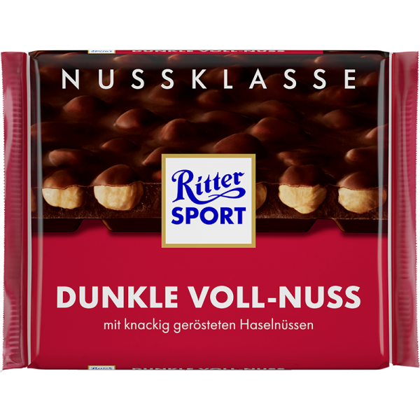 Dunkle Voll-Nuss