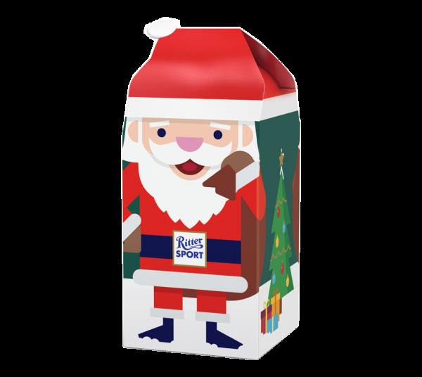Weihnachtsmann-Geschenk