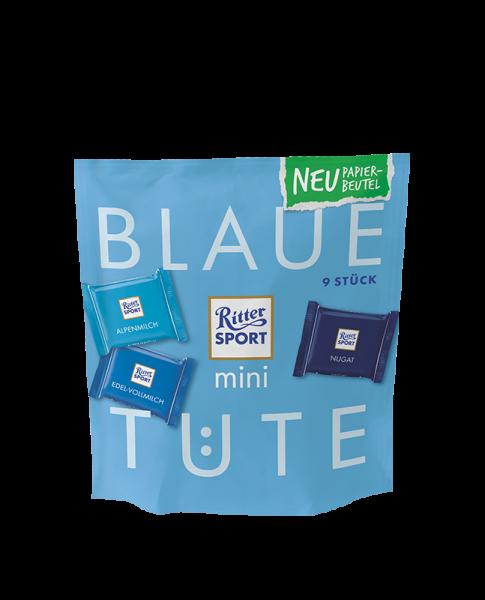 mini Blaue Tüte